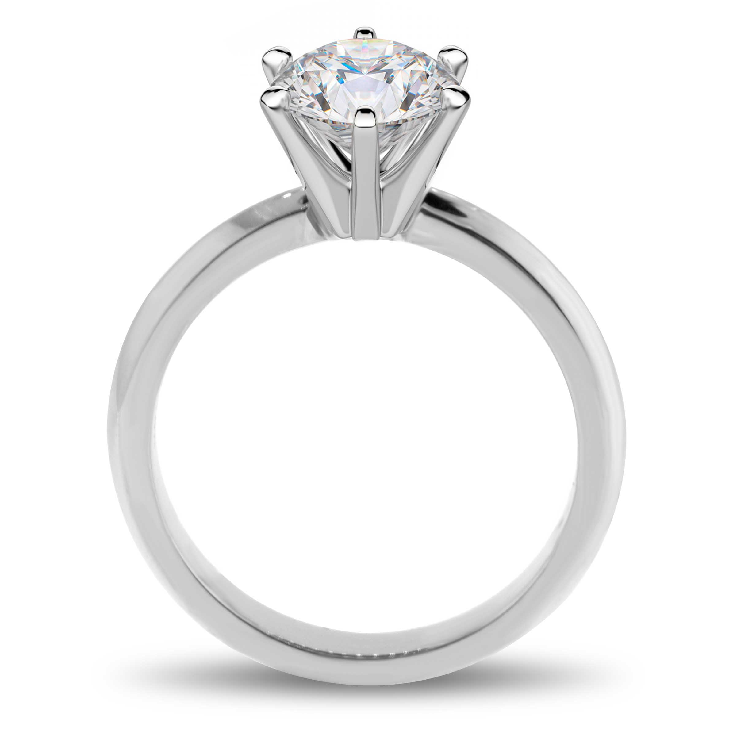 claw fit prong in dome fort platinum best engagement of low six solitaire ring rings my