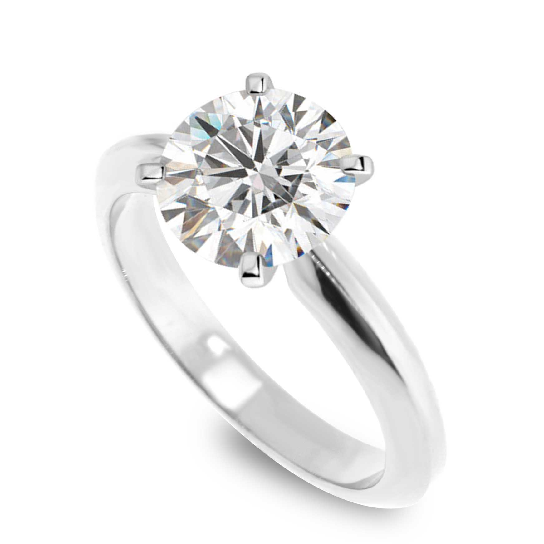 white prong classic diamond setting gold in traditional solitaire engagement rings ring
